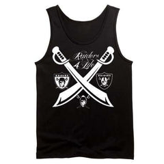 Team of the Decades Raiders 4 Life Tank Top