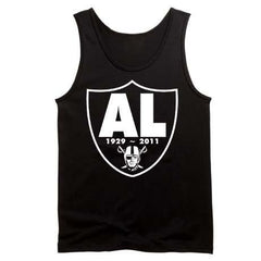 RIP Al Davis Shield Raiders 4 Life Tank Top
