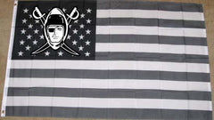 Throwback Logo - 3'X5' Raiders 4 Life Banner