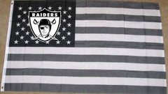 Throwback Shield - 3'X5' Raiders 4 Life Banner