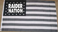 Raider Nation - 3'X5' Raiders 4 Life Banner