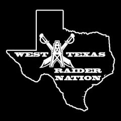 West Texas Raider Nation - 3'X5' Raiders 4 Life Banner
