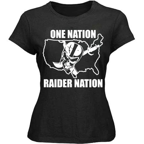 One Nation - Raiders 4 Life Women's Shirt