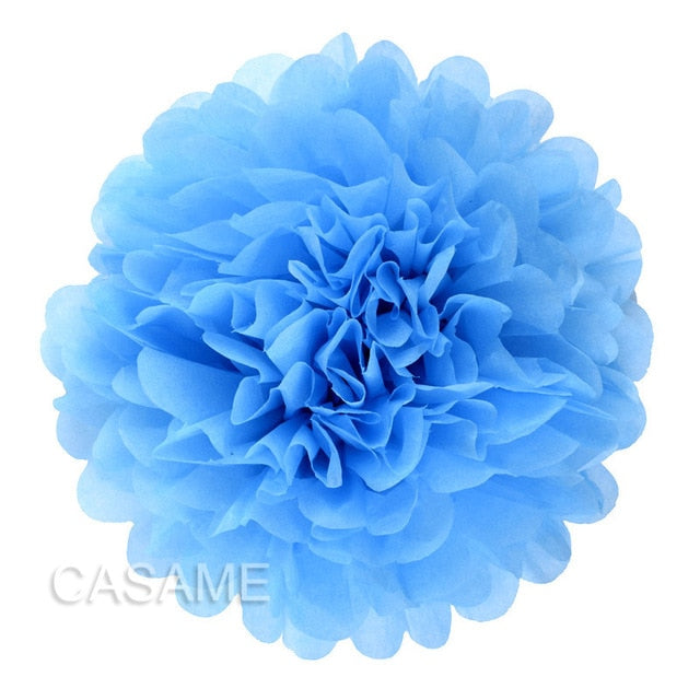Party Paper Flowers 10pcs
