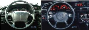 96 – 07 GTP Model Differences