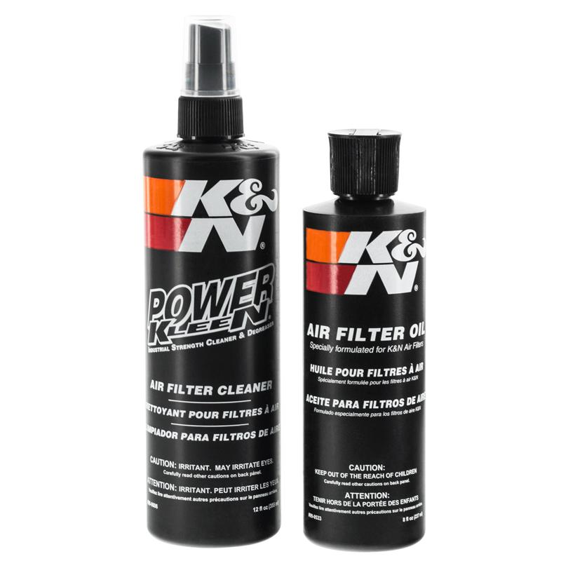 Air Intake - K&N Air Filter Cleaning Kit
