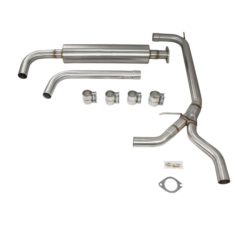 "Exhaust - 2.5"" 97-03 Grand Prix Stainless Catback Exhaust"