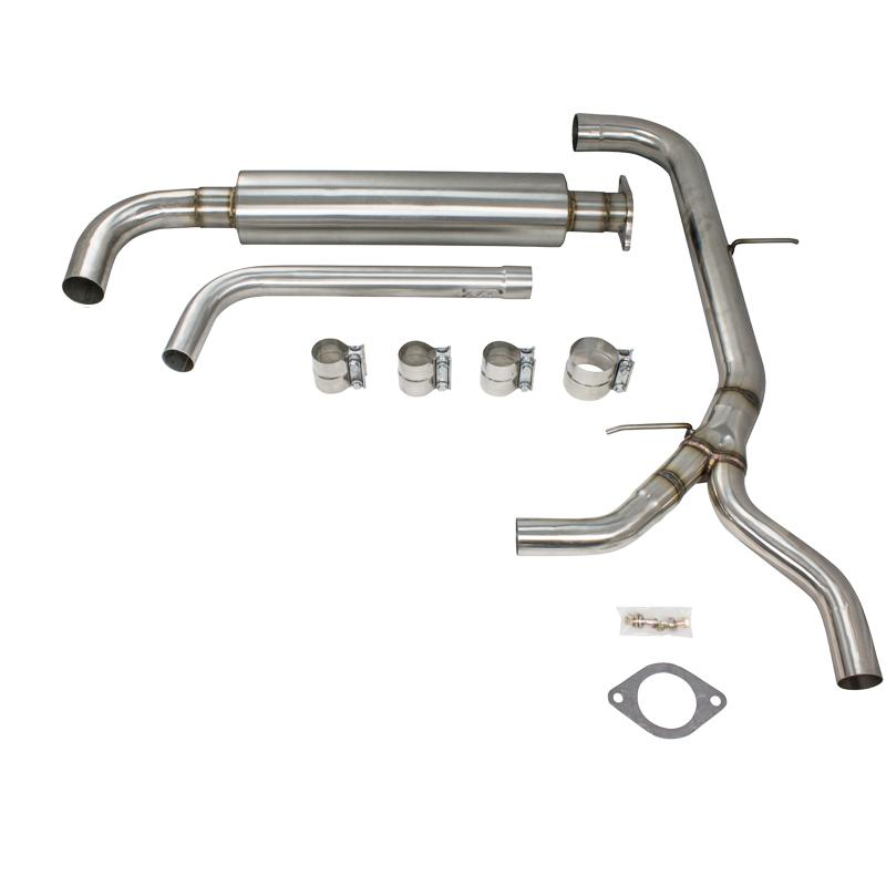"Exhaust - 3"" 04+ Grand Prix Stainless Catback Exhaust"