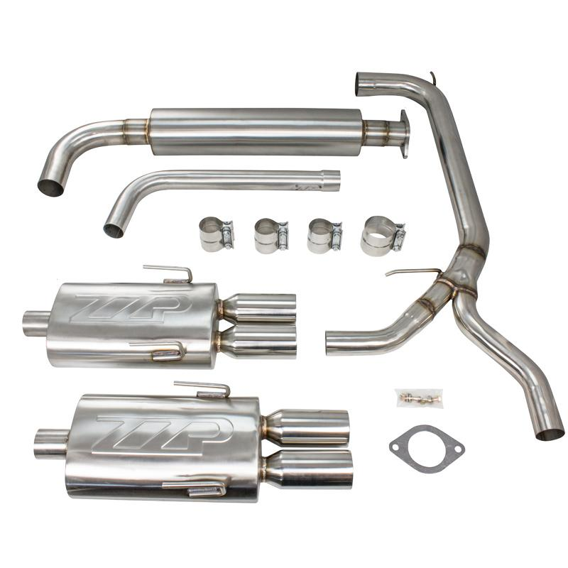 "Exhaust - 3"" 97-03 Grand Prix Stainless Catback Exhaust"