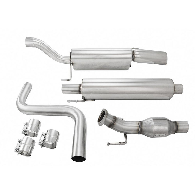 ZZP 18L Sonic Stainless Catback Exhaust ZZPerformance