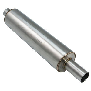 "Exhaust - ZZP 2.5"" Stainless Resonator"