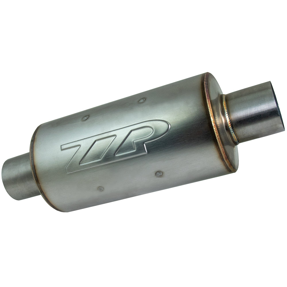 "Exhaust - ZZP 2.5"" Ultra Quiet Short Stainless Resonator"