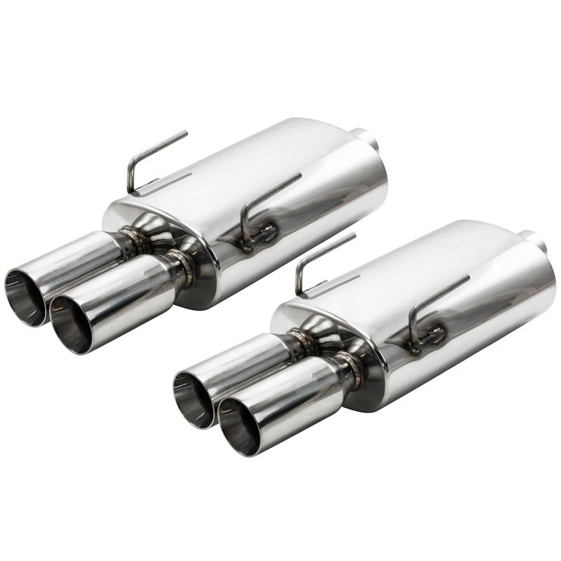Exhaust - ZZP 3 Chamber Straight Flow Mufflers