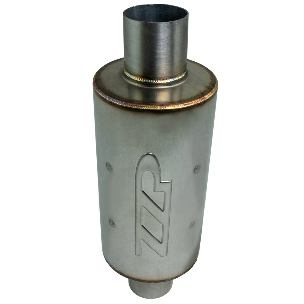"Exhaust - ZZP 3"" Ultra Quiet Short Stainless Resonator"