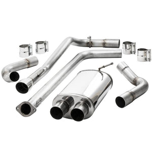 Exhaust - ZZP Cruze Stainless Catback Exhaust