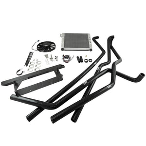 Polaris Slingshot - Slingshot Rear Mount Radiator Kit