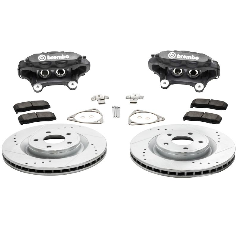 Suspension & Brakes - 12.25 Inch Front Brake Kit With Brembo Calipers