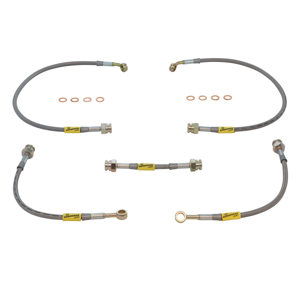 Suspension & Brakes - 3800 Goodridge Stainless Brake Lines