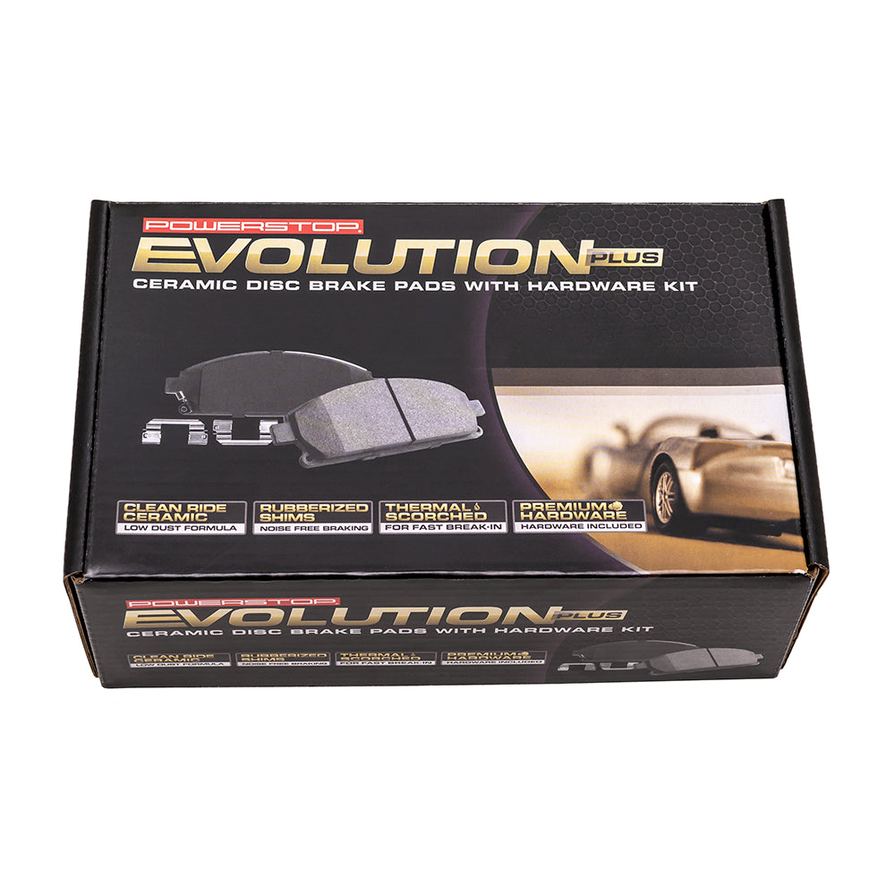Suspension & Brakes - Ecotec Power Stop Brake Pads
