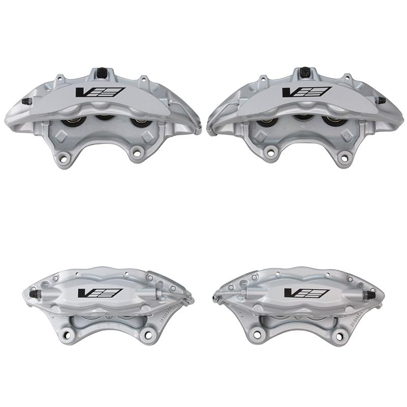Suspension & Brakes - Front 6 Piston And Rear 4 Piston Brembo CTS-V Calipers