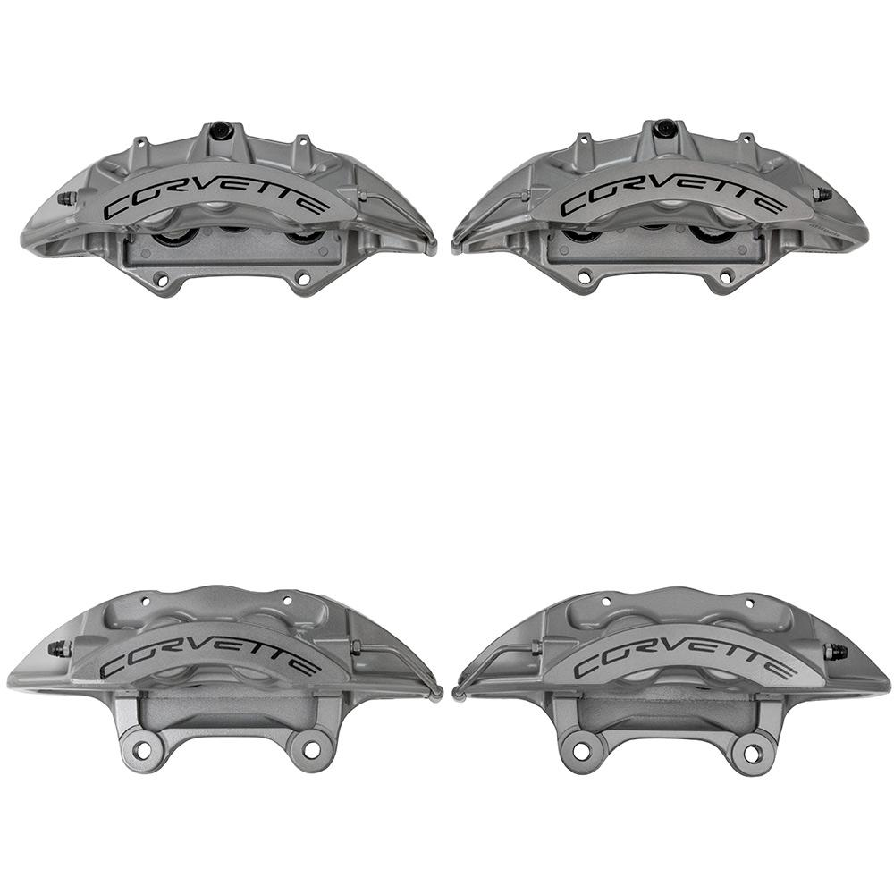 Suspension & Brakes - Front 6 Piston And Rear 4 Piston Brembo ZR1 Calipers
