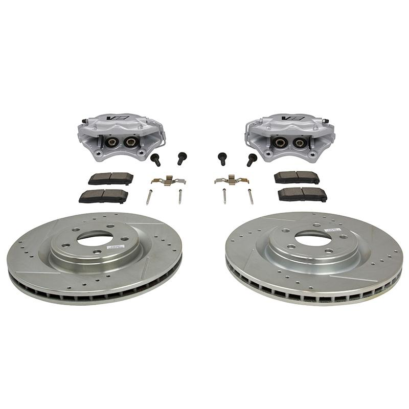 Suspension & Brakes - G8 Rear Brembo 4 Piston Caliper Brake Kit
