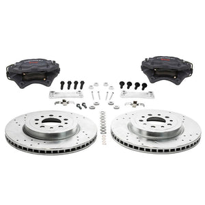 "Suspension & Brakes - ZZP 13.6"" Front Brake Kit With Brembo Calipers"