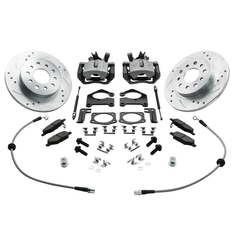 Suspension & Brakes - ZZP Sonic Rear Disc Brake Conversion Kit