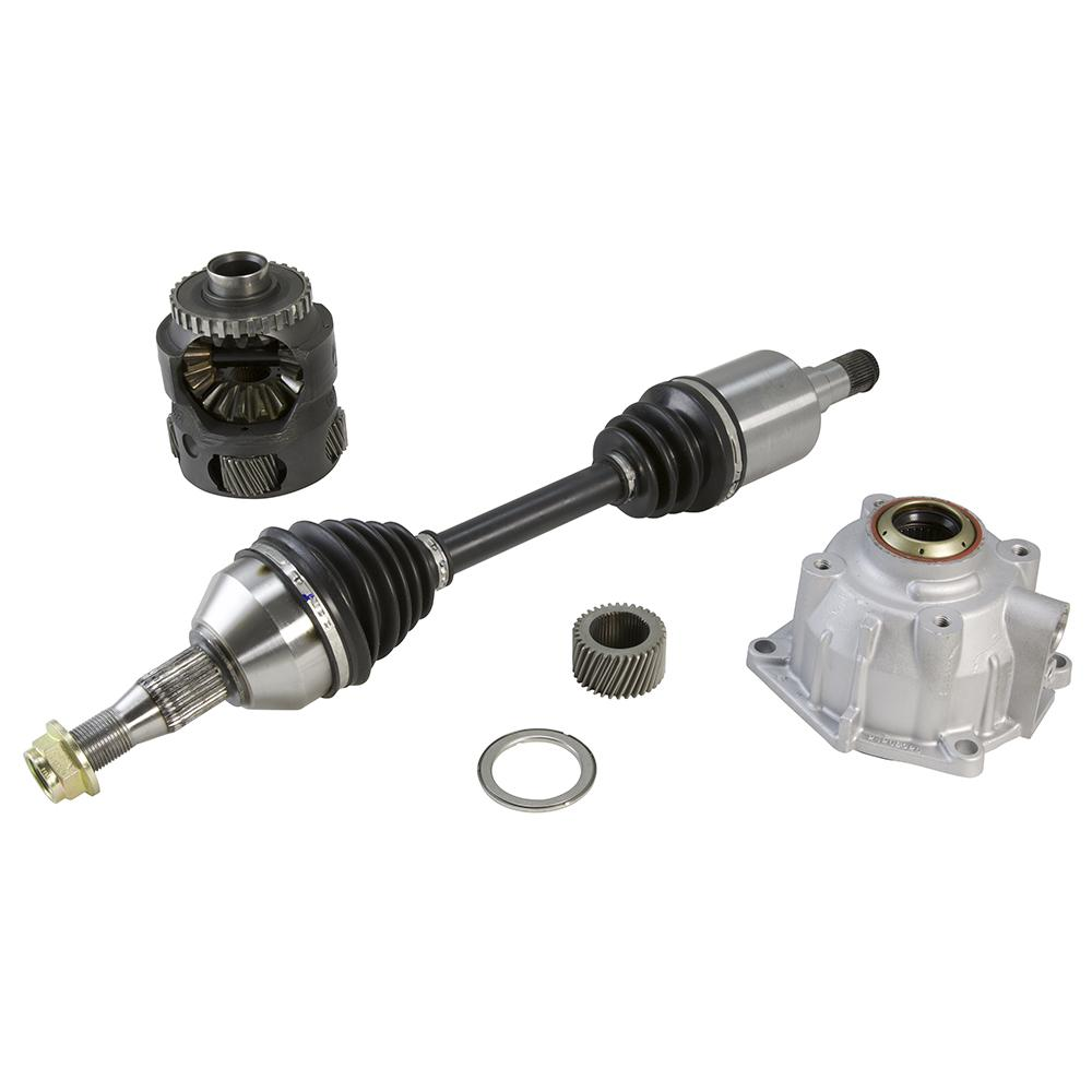 Transmission & Drivetrain - 4T65E HD Upgrade Kit