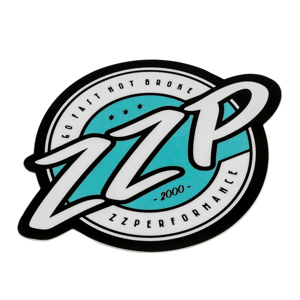 ZZP Teal Logo Decal