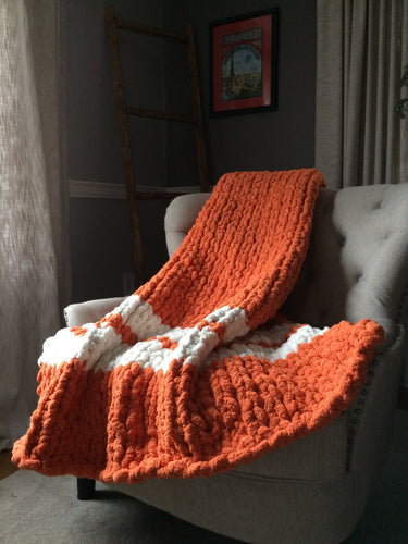 University of Texas Chunky Blanket