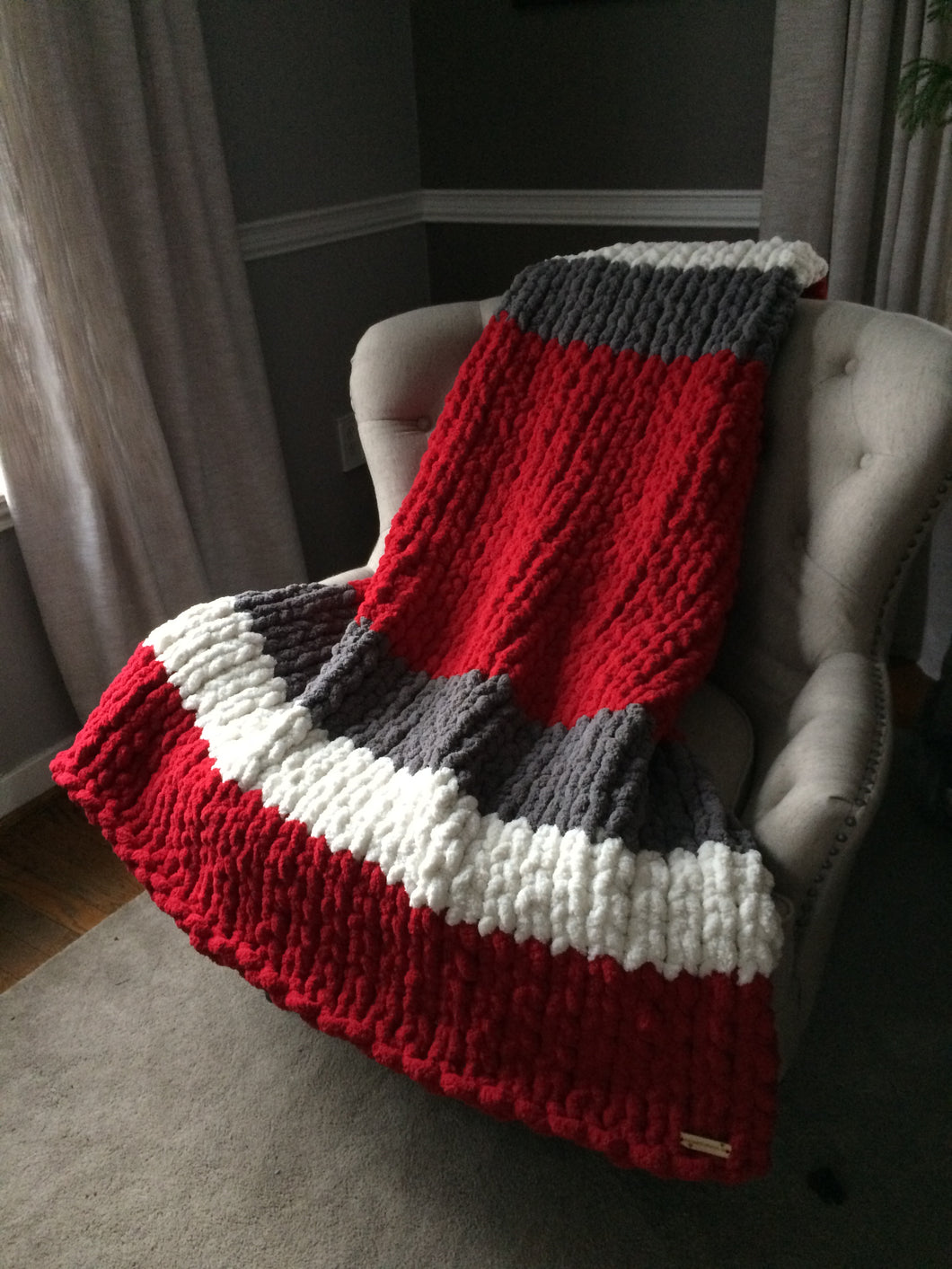 Ohio State University Buckeyes Blanket
