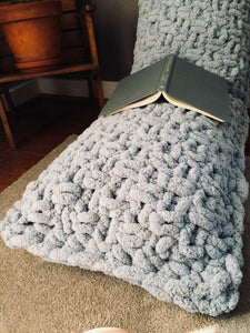 Chunky Knit Body Pillow