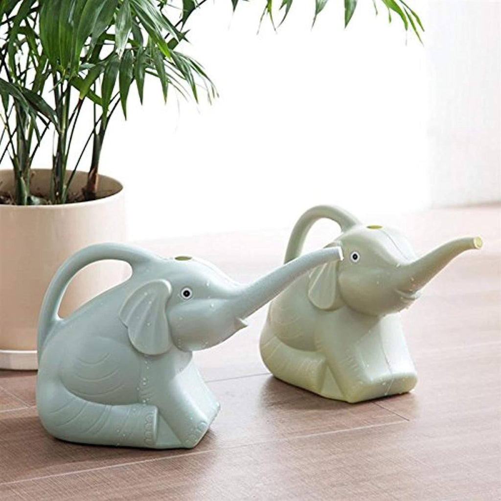 2 quart 1/2 Gallon Elephant Watering Can (A pair)