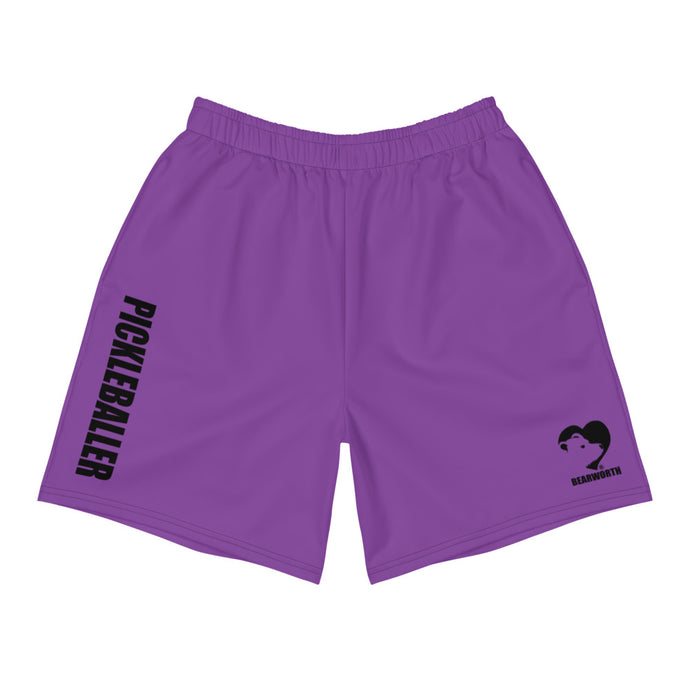 Pickleballer Athletic Shorts (Purple)