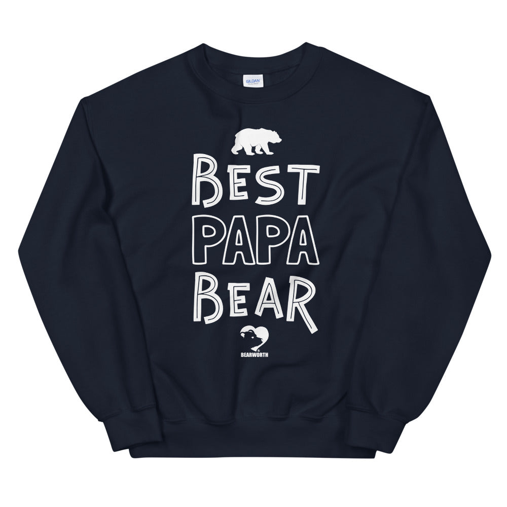 BEST PAPA BEAR Sweatshirt