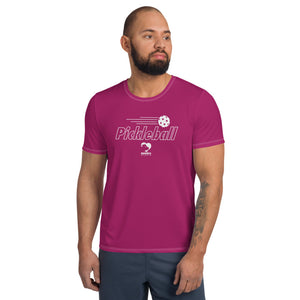Magenta Athletic T-shirt