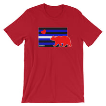 Bear Leather Flag T-Shirt