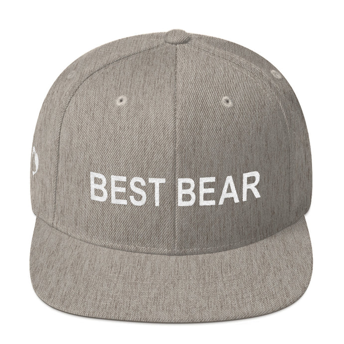 BEARWORTH BEST BEAR Snapback Hat