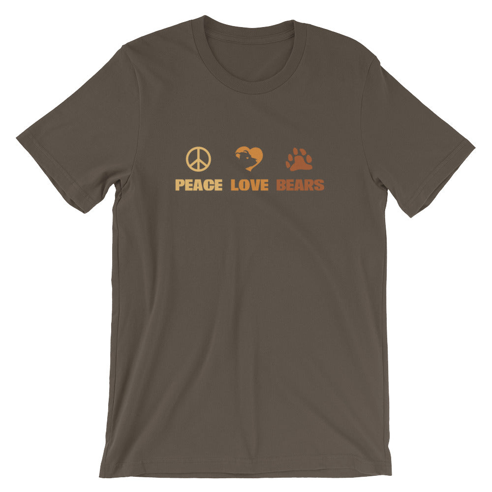 Peace Love Bears T-Shirt