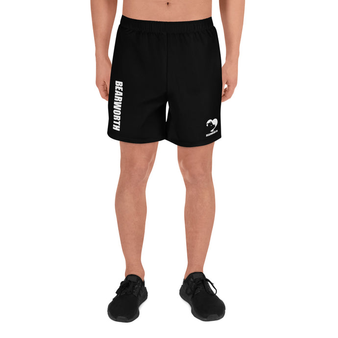 Men's Bear Paw Butt (Black) Shorts