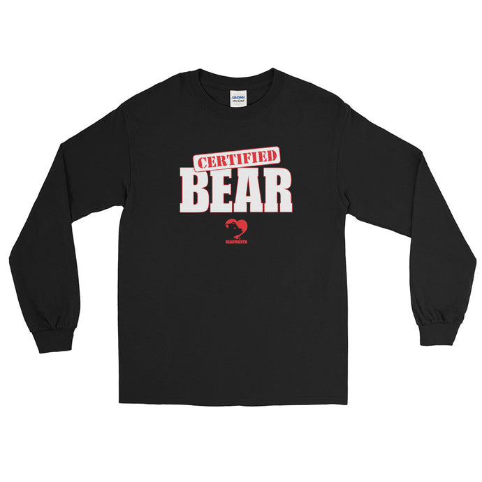 Certified Bear Long Sleeve Tee