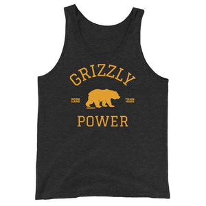 Grizzly Power Tank Top