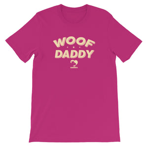 WOOF DADDY T-Shirt (tan font)