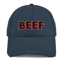 """BEEF"" Dad Hat Distressed"