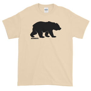 Big Bear (Blk) T-Shirt (Thick Cotton)