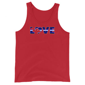 Leather Love Tank Top