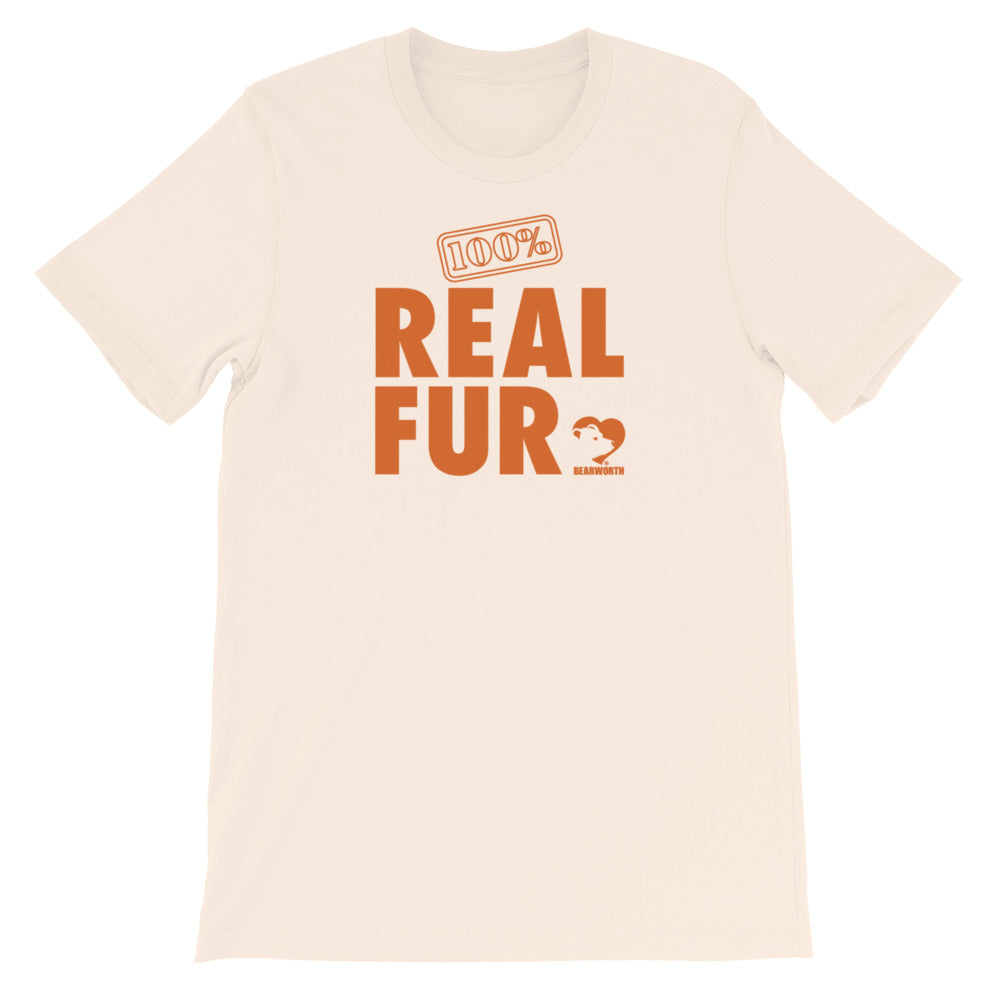 100% Real Fur T-Shirt