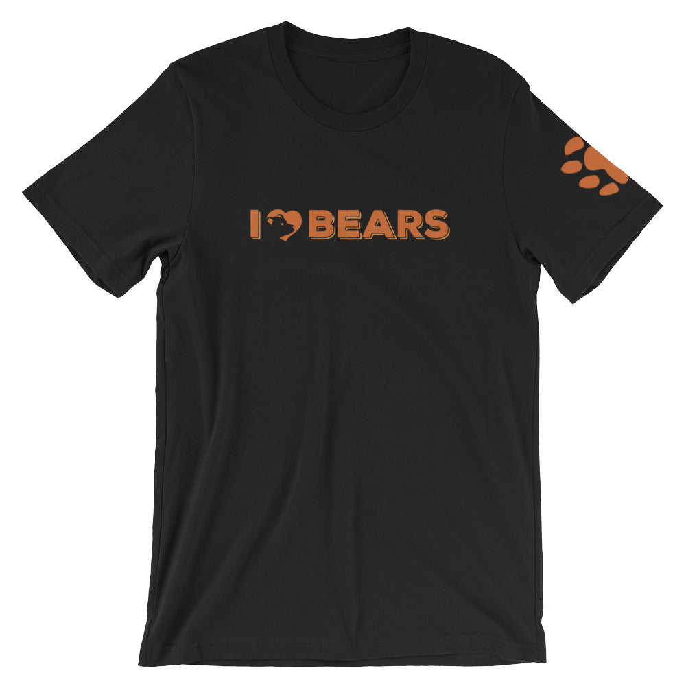 I Love Bears T-Shirt