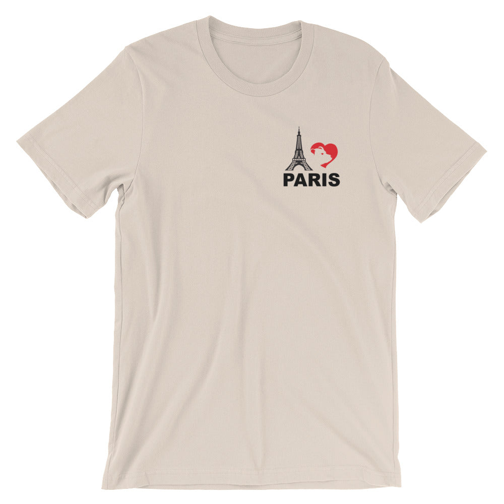 I Love Paris Pocket T-Shirt